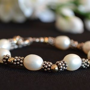 Jewelry - Pearl and Sterling Silver Bracelet